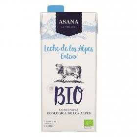 Leche entera ecológica Asana brik 1 l.
