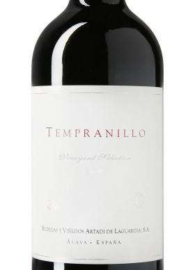 Tempranillo by Artadi Tinto con crianza