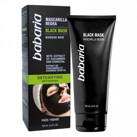 Mascarilla facial negra detox Babaria 100 ml.