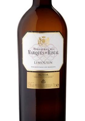 Marqués de Riscal Limousin Blanco 2016