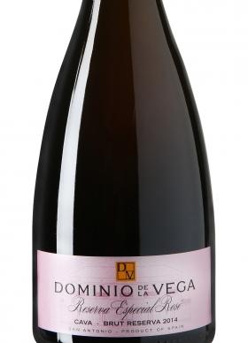 Dominio de la Vega Reserva Especial Rosé Cava Brut Reserva 2014