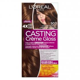 Tinte Créme Gloss nº 503 Castaño Dorado L'Oréal Casting 1 ud.
