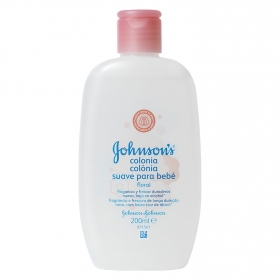 Colonia suave para bebé floral Johnson's Baby 200 ml.