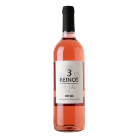 Vino D.O. Rioja rosado 3 Reinos 75 cl.