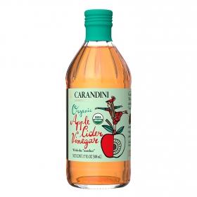 Vinagre ecológico Carandini manzana 500 ml.