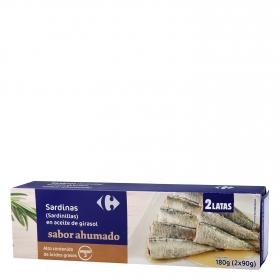 Sardinillas en aceite de girasol sabor ahumado Omega 3