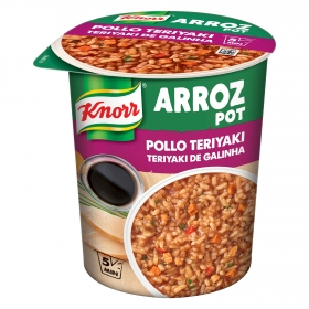 Arroz con pollo Teriyaki