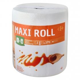 Papel de cocina resistente Maxi Roll Carrefour 1 rollo.