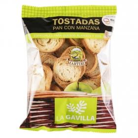 Tostadas con manzana especiales para queso La Gavilla 80 g.