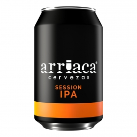 Cerveza Arriaca Session IPA lata 33 cl.