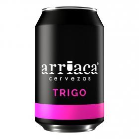 Cerveza Arriaca trigo lata 33 cl.
