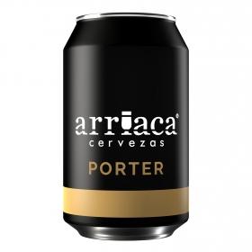 Cerveza Arriaca Porter lata 33 cl.