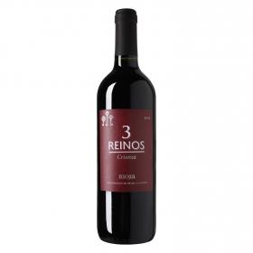 Vino D.O. Rioja tinto crianza 3 Reinos 75 cl.