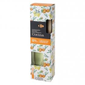 Ambientador varillas absorbeolores cocina Carrefour 45 ml.