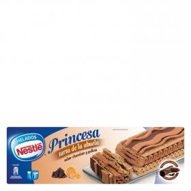 Tarta helada sabor chocolate y galleta Princesa Nestlé 570 g.