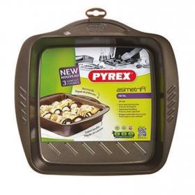 Fuente Cuadrada PYREX 24X24 cm - Negro