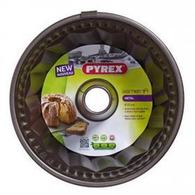 Molde PYREX Savarin Asim PX 22 cm - Negro