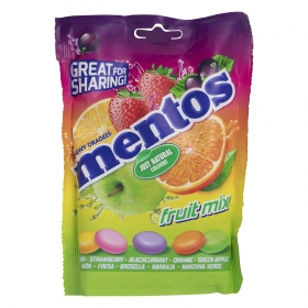 Caramelos fruit mix Mentos 160 g.