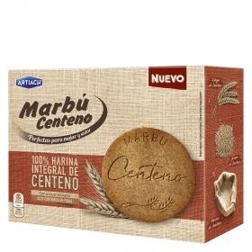 Galletas Marbú centeno con azúcar moreno