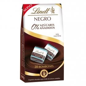 Bombones chocolate negro 0%  sin gluten