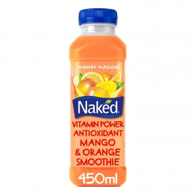 Smoothie de mango y naranja Naked botella 45 cl.