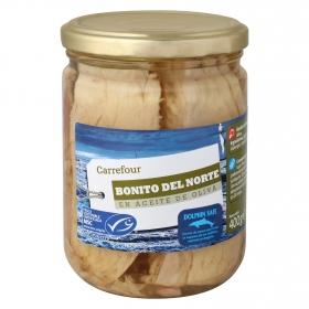 Bonito del norte en aceite de oliva Carrefour 260 g.