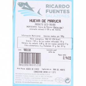 Huevas de maruca, Ricardo Fuentes 140 g