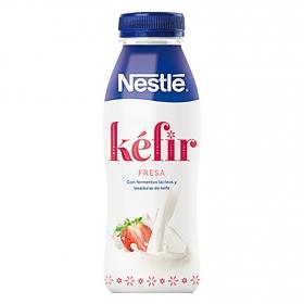 Yogur líquido de Kéfir sabor fresa