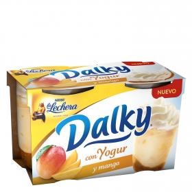 Copa con yogur y mango Nestlé - La Lechera pack de 2 unidades de 100 g.