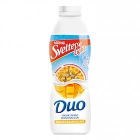 Yogur líquido 0% mango y maracuyá Dúo