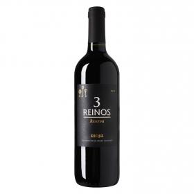 Vino D.O. Ca. Rioja tinto reserva 3 Reinos 75 cl.