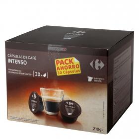 Café intenso en cápsulas compatible con Dolce Gusto