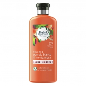 Acondicionador Volumen Pomelo blanco & menta mosa bío:renew Herbal Essences 400 ml.