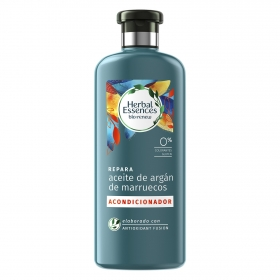 Acondicionador Repara Aceite de argán de marruecos bío:renew Herbal Essences 400 ml.