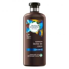 Champú Hidrata Leche de coco renew ecológico Herbal Essences 400 ml.