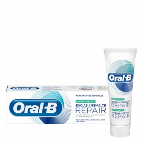 Dentífrico extra fresco Encias & Esmalte Repair Oral-B 75 ml.