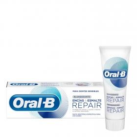 Dentífrico blanqueante Encias & Esmalte Repair Oral-B 75 ml.