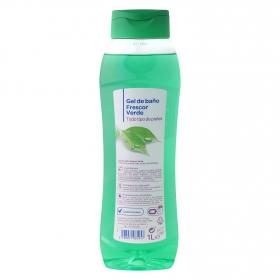 Gel de baño frescor verde