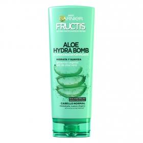 Acondicionador Aloe Hydra Bomb Acondicionador fortificante hidrata y suaviza Garnier-Fructis 250 g.