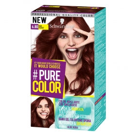 Tinte #Pure Color 6.8 red velvet Schwarzkopf 1 ud.
