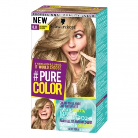 Tinte #Pure Color 8.0 authentic blonde Schwarzkopf 1 ud.