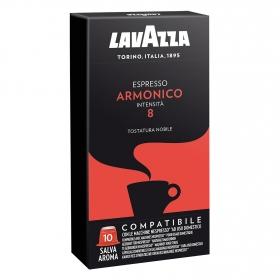 Café armónico en cápsulas compatible con Nespresso