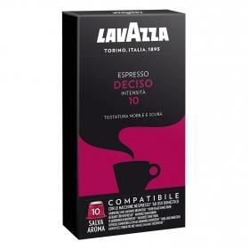 Café deciso en cápsulas compatible con Nespresso
