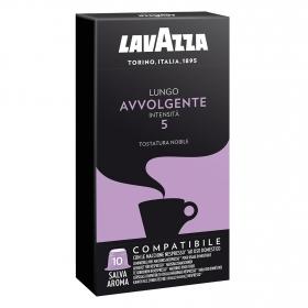 Café lungo avvolgente en cápsulas compatible con Nespresso