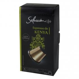 Café expresso Kenia en cápsulas