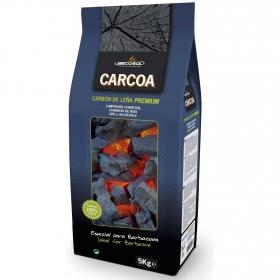Carbón Vegetal para Barbacoa Carcoa 5 kg