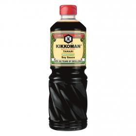 Salsa de soja Kikkoman sin gluten botella 1 l.