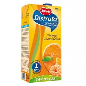 Néctar naranja y mandarina sin azúcar añadida