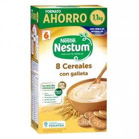 Papilla 8 cereales con galleta