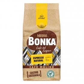 Café molido natural espresso cultivo sostenible Nestlé Bonka 220 g.
